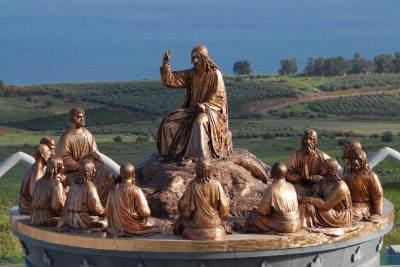 The Sermon on the Mount - Sculpture